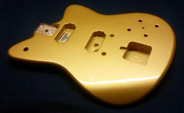 Aztec Gold Custom Guitar