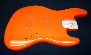 Molly Orange J Bass
