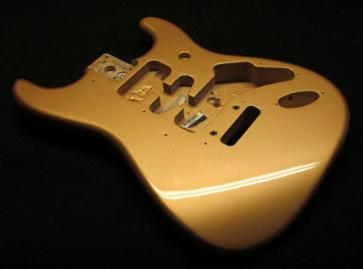 Aztec Gold Metallic Strat