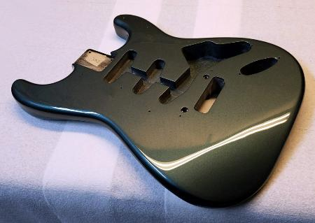Charcoal Frost Metallic Strat