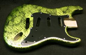Lemon Lime Decay Guitar