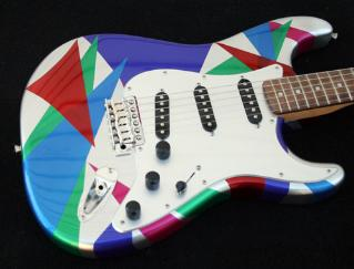 GuitarPaintGuys Isoceles Custom Guitar