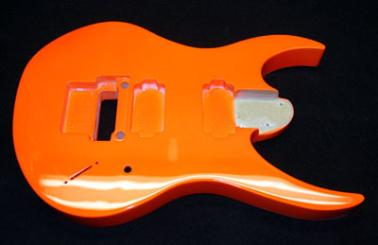 Neon Orange Ibanez
