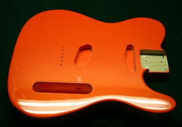 Ultra Orange Pearl Guitar