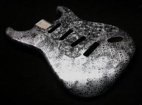 Silver Decay Fender Stratocaster