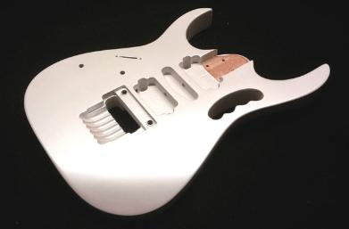 Snow White Pearl Guitar